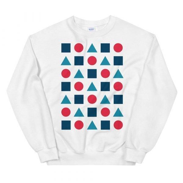 Shapes Unisex Sweatshirt