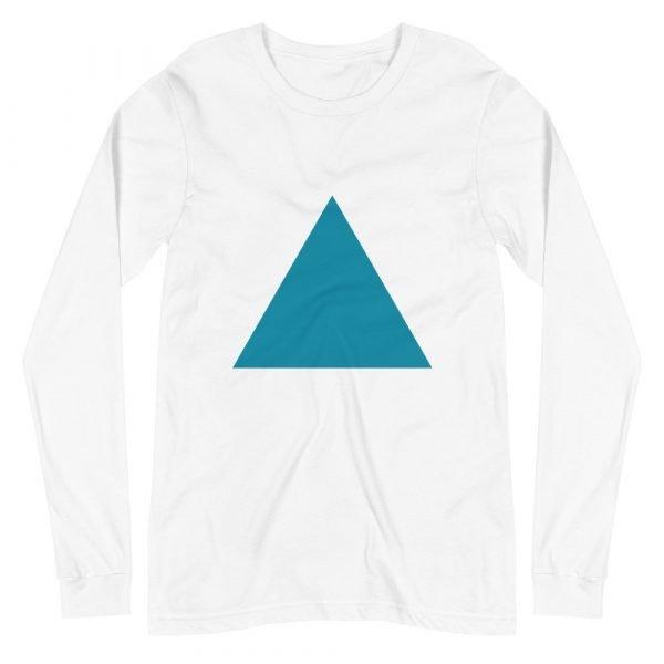 Printed Triangle Long Sleeve Tee