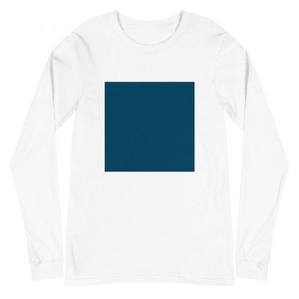 Printed Square Long Sleeve Tee