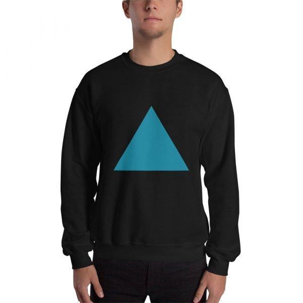 Printed Triangle Sweatshirt