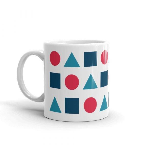 Mug with shapes