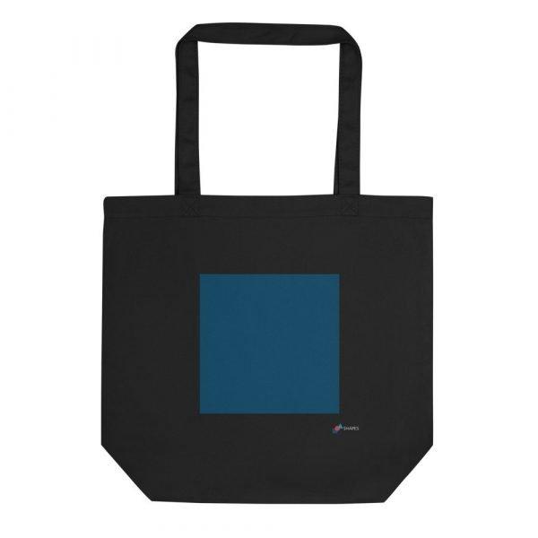 Black Square Eco Tote Bag