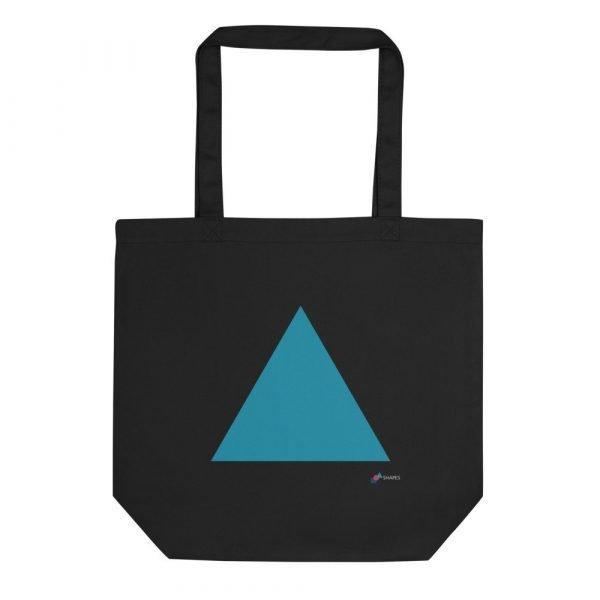 Black Triangle Eco Tote Bag